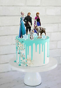 Set of Frozen Cake Toppers