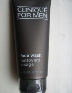 Clinique FOR MEN Face Wash 200ml - New and Sealed - UK STOCK EASTER- BIRTHDAY