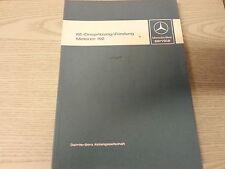 Original Mercedes Werkstatthandbuch 1986 Motor 102 190E 2,3 -16V  W124  230 E TE