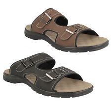 Sandalias de hombre en color principal negro