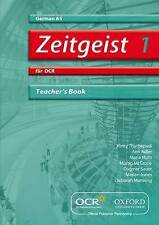 Zeitgeist 1: Fur OCR AS Teacher's Book by Morag McCrorie, Ann Adler...