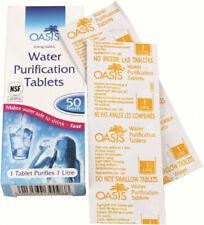 Oasis KATADYN Micropur Forte m1t 100 compresse Acqua Disinfezione compresse Oasis