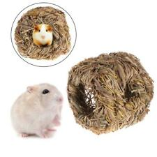 Hamster Nest Natural Grass Small Pet Animal Toys Cage For Chinchilla Guinea Pig-