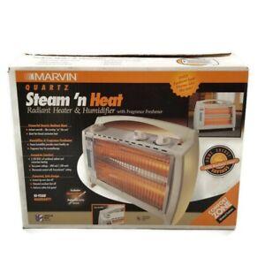 Marvin Quartz Steam 'n Heat Radiant Heater & Humidifier with Fragrance Freshener