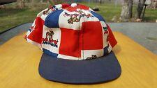 Vintage Mack Red White and Blue Rare Trucker Mesh Style Trucker Hat Snapback