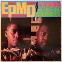 1989 - EPMD - I'M HOUSIN' / GET OFF THE BANDWAGON REMIXES - FRESH RECORDS ORIG