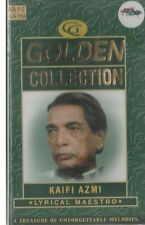 KAIFI AZMI - GOLDEN COLLECTION - LYRICAL MAESTRO - NEW BOLLYWOOD AUDIO CASSETTE