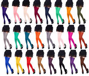 Opaque Stockings 40Denier Plain Top by Romartex,24Fashionable Colours,Sizes S-XL