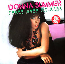 "Donna Summer 12"" There Goes My Baby - Europe (EX/EX+)"