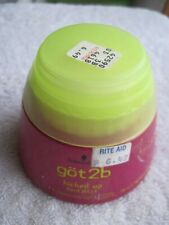 Schwarzkopf Got2b Kicked Up Hard Jelly Hair Styling Gel Pink Yellow Tub Hipster