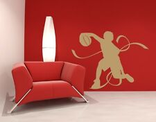 Basketball Player II - highest quality wall decal stickers