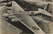 Postcard 1462 - Aircraft/Aviation Real Photo Amer Bomber
