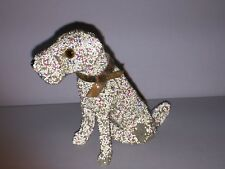 Early Miniature Terrier Dog with Glass Bead Glitter & Glass Eyes ~ Germany