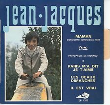 45 T EP  JEAN JACQUES *MAMAN* (EUROVISION 1969)