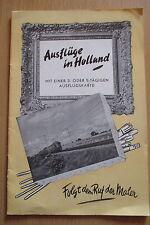 Reiseprospekt / führer Holland Niederlande um 1950, 20 Seiten
