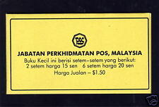 MALAYSIA 1988 $1.50 COMPLETE BOOKLET KSB4.