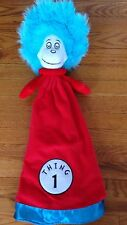 Dr Seuss Thing 1 Security Blanket/Lovey/Plush