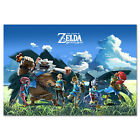 The Legend of Zelda: Breath of the Wild - Champions Poster - High Quality Prints