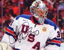 """~~ RYAN MILLER Authentic Hand-Signed """"TEAM USA Anaheim Ducks"""" 8x10 Photo ~~"""