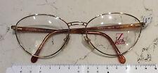 Lozza Nancy  occhiale donna nuovo vintage anni 90' metallo colore oro