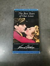 The Best Years of Our Lives, 1946 ‧ Drama/War, Myrna Loy, Fredric March, Vhs