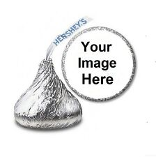 216 CUSTOM PERSONALIZED HERSHEY'S KISS STICKER LABELS - Party Favors