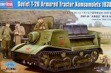 Hobbyboss 1:35 T-20 Komsomolets 1938 Soviet Armoured Tractor Model Kit