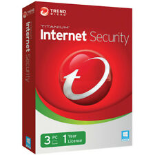 Trend Micro Internet Security 1 Year 3 Devices 2018