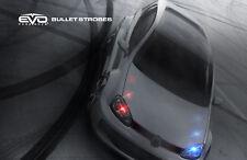 EVO Formance 1 Watt, T-10 LED Bullet LED Strobe Bulbs Red/Blue for Car-Truck
