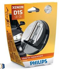 Philips Xenon Vision D1S 85415VIS1 Light Bulb Single in Blister Pack