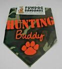 FD3 FUNDOG BANDANA 1 SIZE MEDIUM & LARGE CAMOUFLAGE HUNTING BUDDY