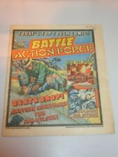 BATTLE ACTION FORCE BRITISH WEEKLY IPC 6TH JULY 1985^