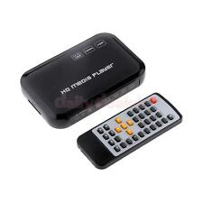1080P HD 3D TV Media Player YPbPr/RCA/HDMI/AV/VGA for USB Drives SD/MM Card