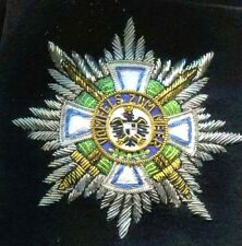 House order of Hohenzollern w/ swords - Military Version -Germany WWI