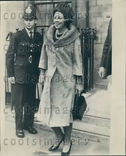 1965 Lovely Princess Beatrix of Holland Wearing Long Overcoat Press Photo