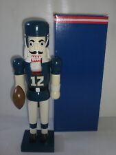 San Diego Chargers Wooden Nutcracker Officially Licensed NFL Football Christmas