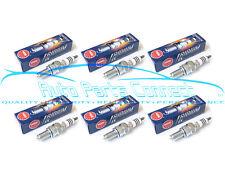 6 NGK IRIDIUM IX SPARK PLUGS for MITSHUBISHI 2309 LFR7AIX PERFORMANCE UPGRADE