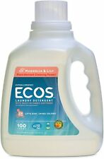 ECOS Ultra Laundry Detergent, Earth Friendly Products, 100 oz Magnolia & Lily