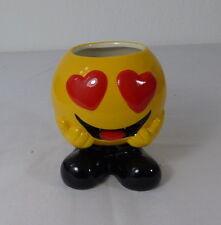 Keramik Becher Emotion Smiley Herzen