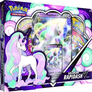 Pokemon TCG: Galarian Rapidash V Box BRAND NEW IN STOCK
