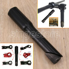 """NEW BLACK STEM CONVERTER1"""" Forks, 22.2m QUILL to 1-1/8""""28.6mm AHEAD Bike Bicycle"""
