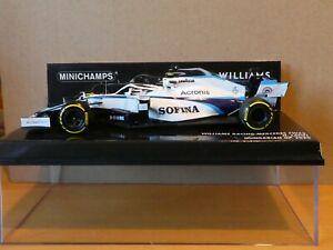 Minichamps 1:43 Nicholas Latifi Williams FW43 Hungarian GP F1 2020 NEW 417200106