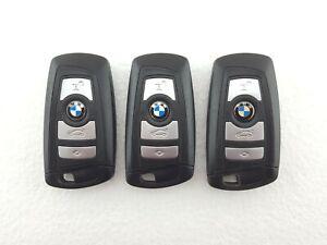 3 x BMW 5 Series F10, F11, Etc. 4 Button Smart Keys Job Lot - Tested