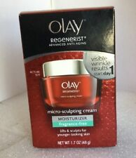 New Olay Regenerist Micro Sculpt Cream Size 1.7 Oz.