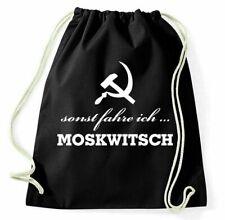 Otherwise Drive I Moskwitsch Gym Bags Sports Bag Backpack GDR Classic Car Udssr
