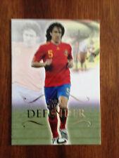 2011 Unique Futera Soccer Card - Spain PUYOL Mint
