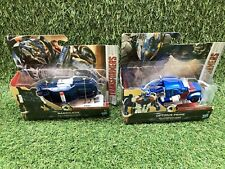 2 x Transformers The Last Knight 1 Step Turbo Changers Barricade & Optimus Prime