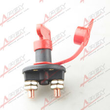 Car Battery Cut Off Disconnect Master Kill Switch Marine RV With Removable Key