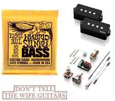 EMG GZR P HZ Geezer Butler P Bass Passive ( ERNIE BALL #2833 BASS STRINGS) PHZ