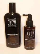 American Crew Fortifiyng Shampoo 250ml + Scalp Treatment Thin Hair 100 Ml